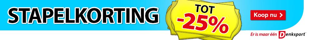 Banner - Stapelkorting
