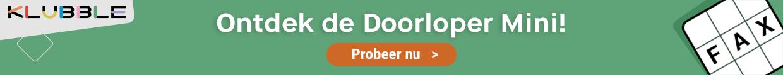 Klubble Doorloper Mini
